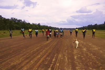 GanGan training on the airstrip